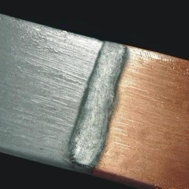 焊枪修补不锈钢铜铁铝用铜铝焊条示例图3