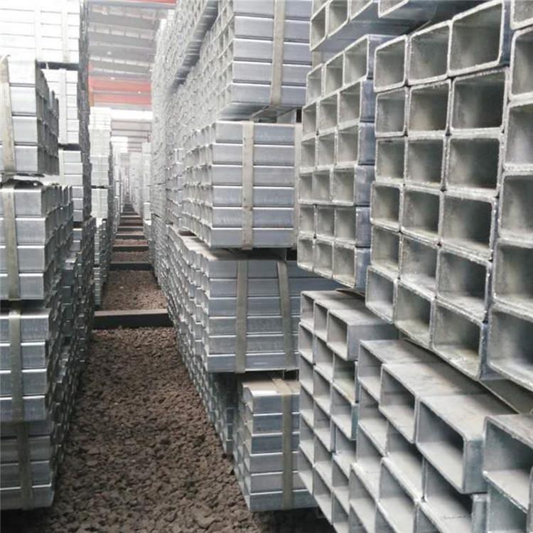 現貨供應鍍鋅方管 鍍鋅方通 空心方40方50方等規格齊全示例圖10
