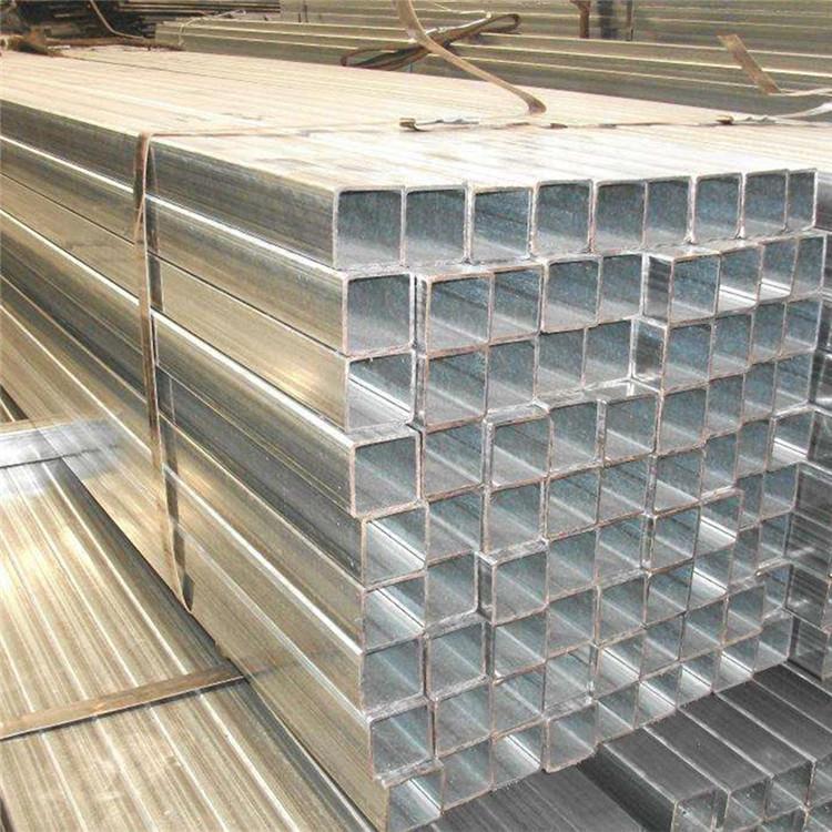 現貨供應鍍鋅方管 鍍鋅方通 空心方40方50方等規格齊全示例圖6