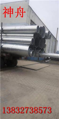 《螺旋钢管法兰加工》按要求定制/订做各种加工螺旋钢管/山西煤矿/瓦斯抽送螺旋钢管示例图4