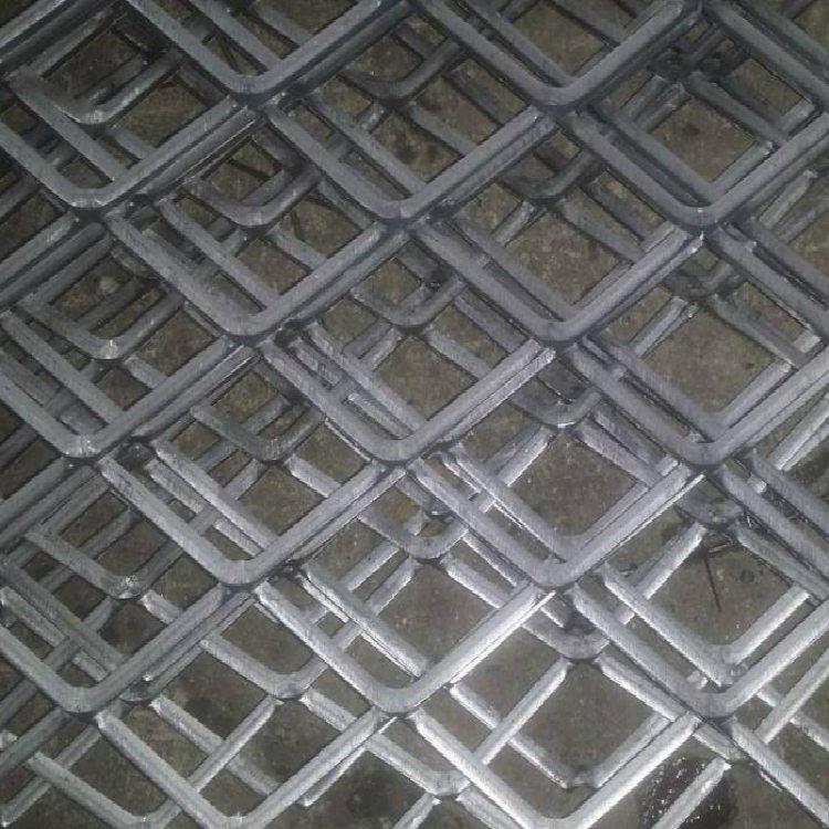 亚奇钢板网系列:脚踏板楼房工人钢笆踏板-电厂楼梯钢板网示例图5