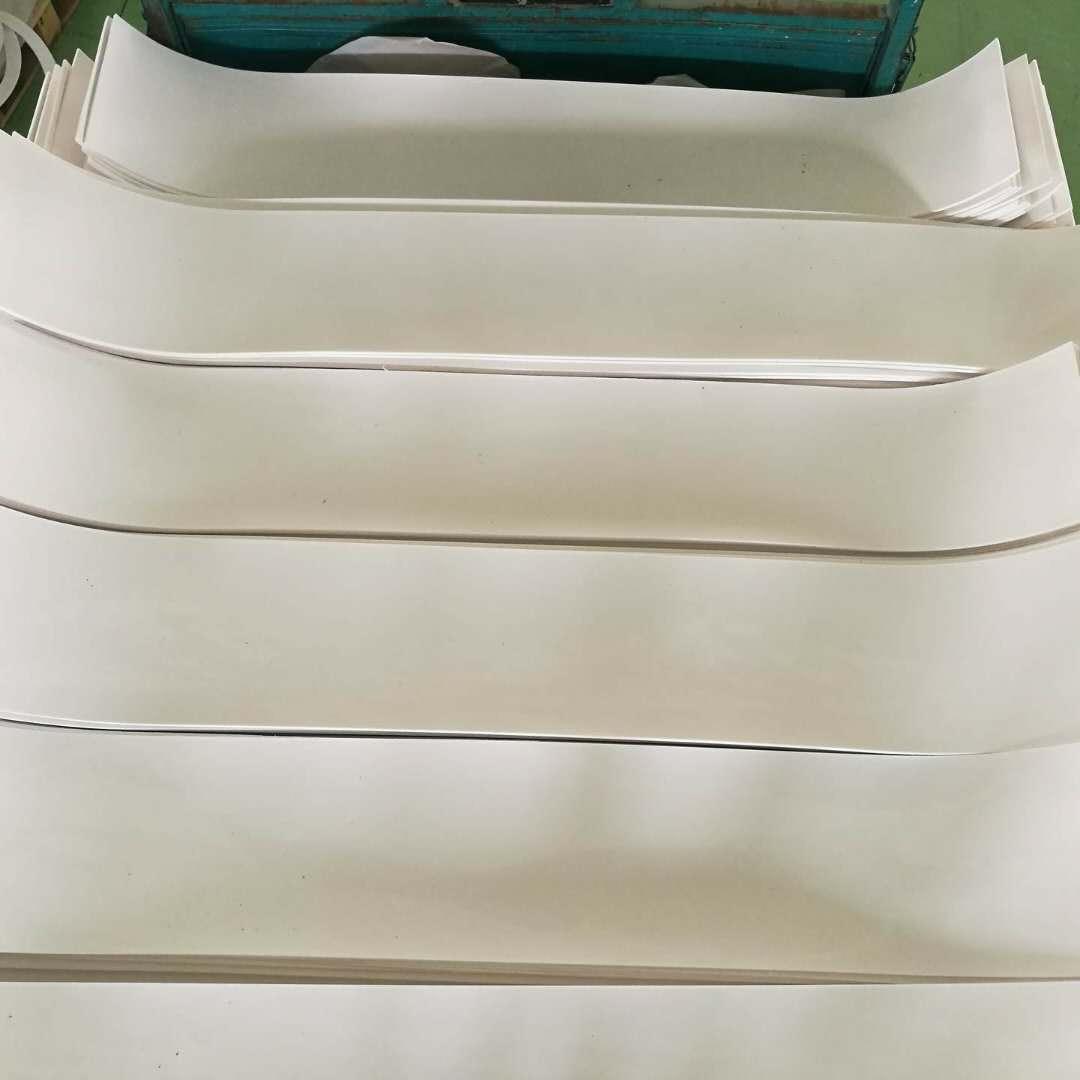 聚四氟乙烯楼梯板价格 滑动支座聚四氟乙烯板 5mm聚四氟乙烯厂家 楼梯专用四氟板示例图2