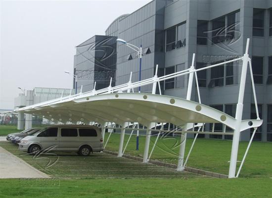 上海赛轩MJG-003 车篷  膜结构车棚,汽车车棚,车棚厂家示例图3