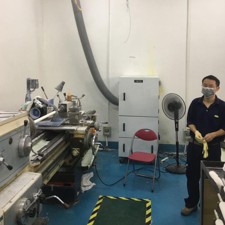 厂家直销磨床吸尘器  0.75kw磨床粉尘除尘器  JC-750-2砂轮机打磨集尘器   机床铝屑粉尘吸尘器移动式示例图11
