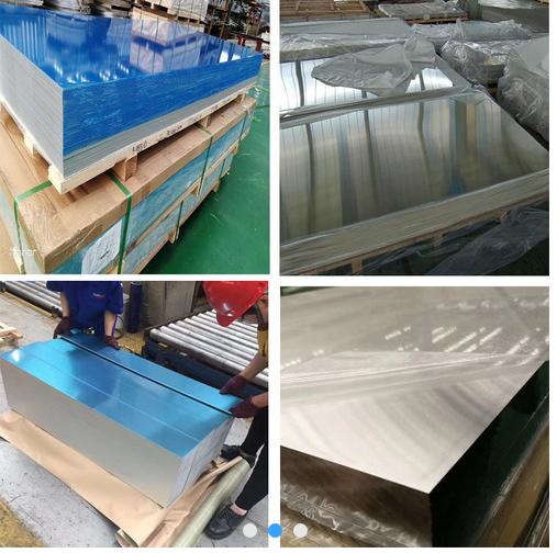 1060H24/O態鋁板 覆膜鋁 鋁板批發示例圖1