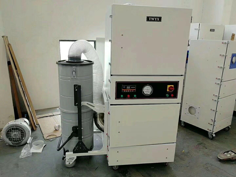 厂家直销磨床吸尘器  0.75kw磨床粉尘除尘器  JC-750-2砂轮机打磨集尘器   机床铝屑粉尘吸尘器移动式示例图13