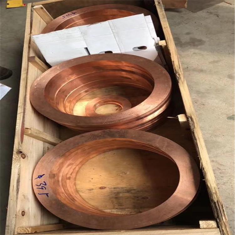 铬锆铜厂家,导热嘴用C18150铬锆铜实心棒示例图2
