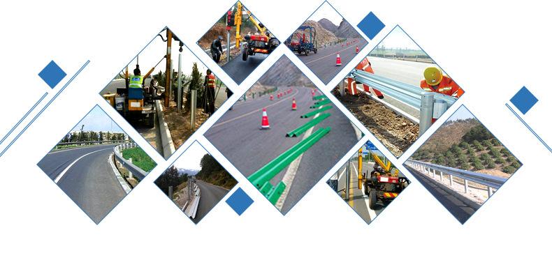 厂家批发波形护栏Gr-A-2e 国标热镀锌喷塑护栏板 乡村道路护栏板示例图20