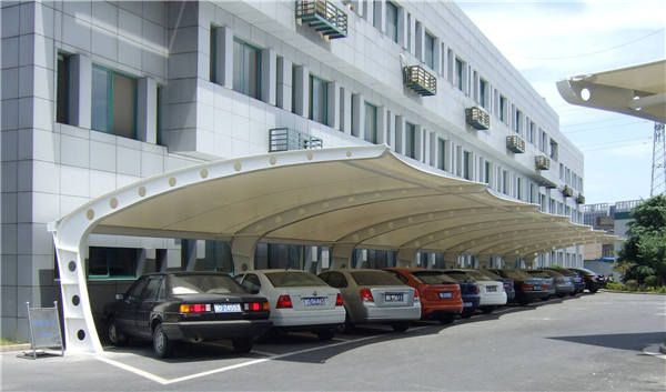 上海赛轩MJG-003 车篷  膜结构车棚,汽车车棚,车棚厂家示例图4