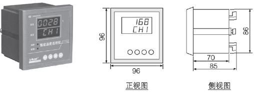 安科瑞ARTM-Pn变配电无线测温装置示例图2
