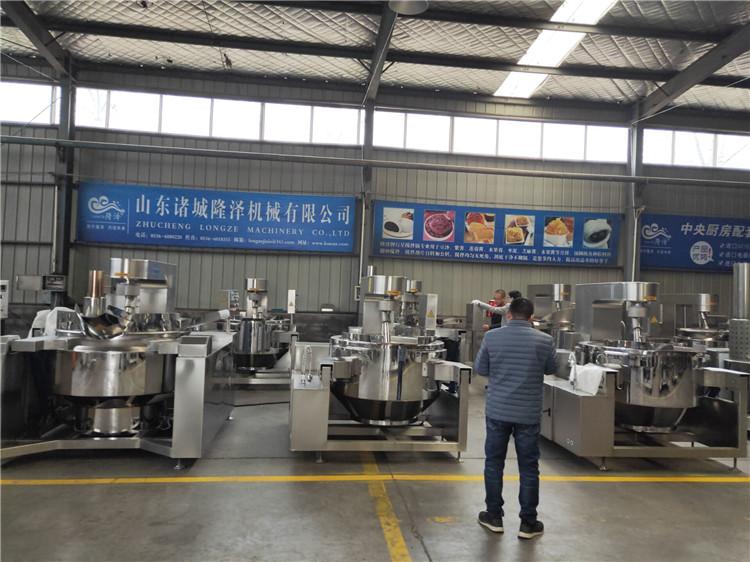 隆泽全自动大型多功能炒菜机 工厂食堂用炒菜机 易清洗示例图4