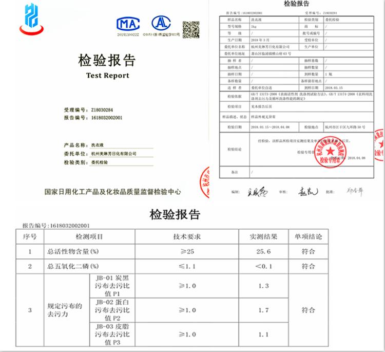 高纯多效衣物洗涤剂 老外品质 浓缩柔顺洗衣液示例图11