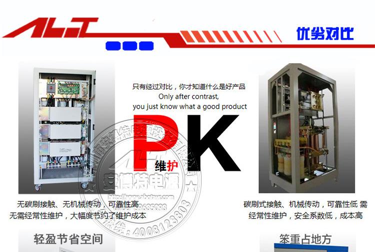 安博特直销高精度交流稳压器TNS-30KVA 40KVA 50KVA三相稳压器示例图19