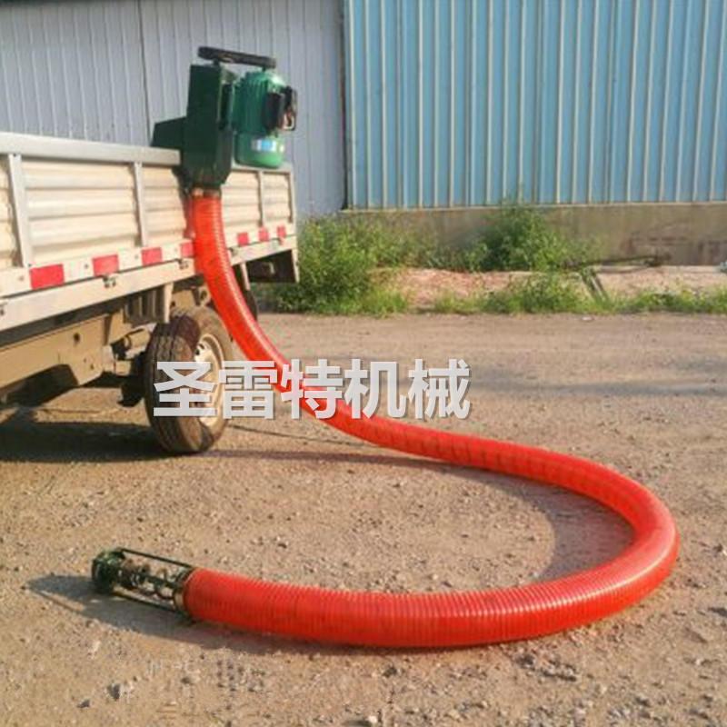 圣雷特 4寸软管吸粮机 车载电动抽粮机 牛筋管上粮机 220v/380v可使用示例图4