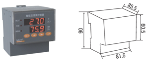 安科瑞WHD48-11温湿度控制器示例图11