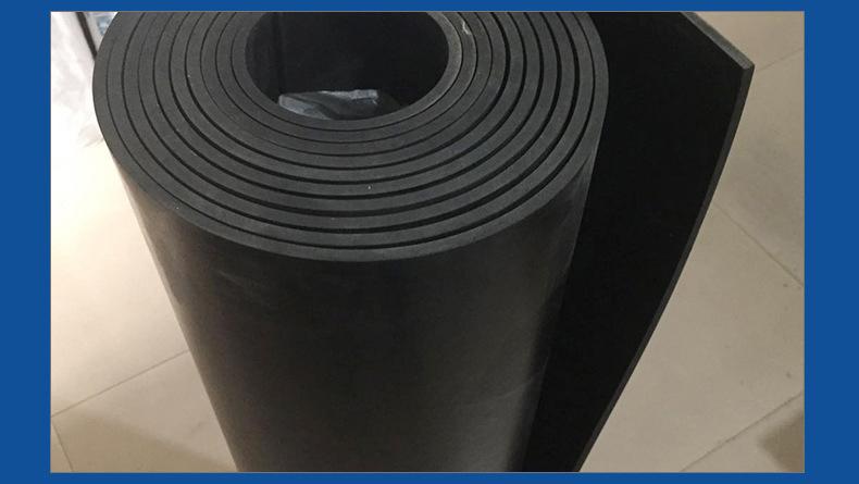 厂家批发高压绝缘胶板 10mm绝缘胶垫 防滑绝缘胶垫价格示例图6