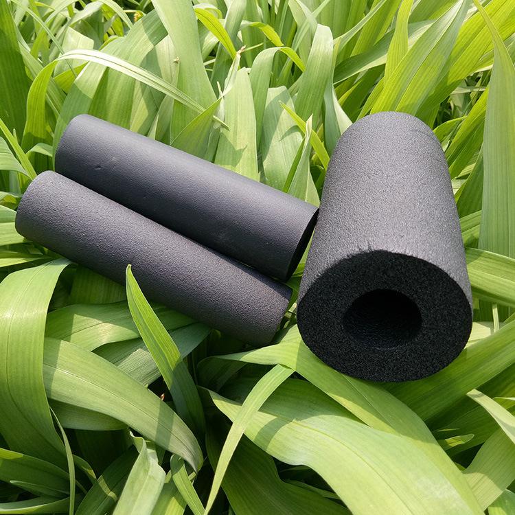 厂家直销彩色橡塑管保温材料耐高温隔热建材高密度橡塑保温管示例图10