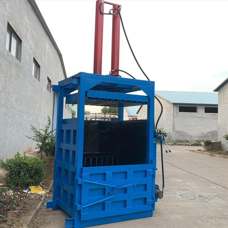 废纸专用液压打包机 60吨油漆桶压扁机厂家 200L油漆桶压扁机示例图8