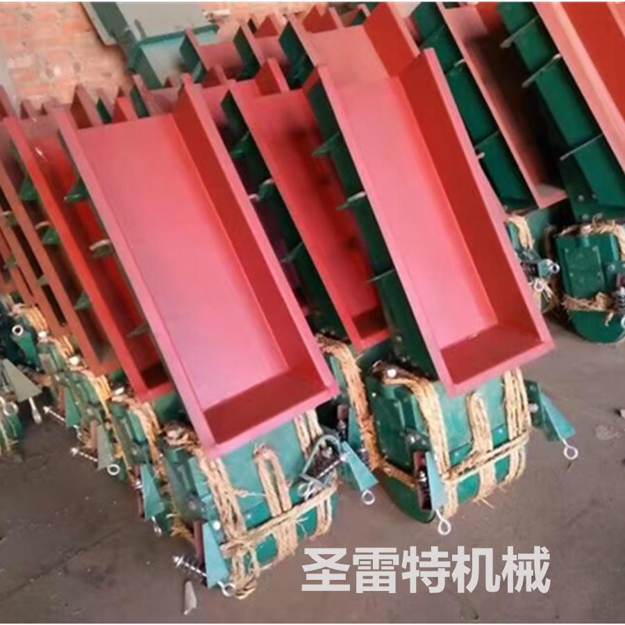 圣雷特给料机-敞开式电磁震动给料机-板材砂石生产料仓专用振动喂料机示例图5