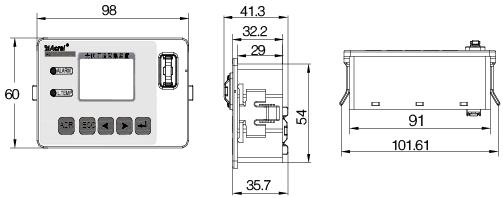 安科瑞AGF-M16T智能光伏汇流采集装置示例图6