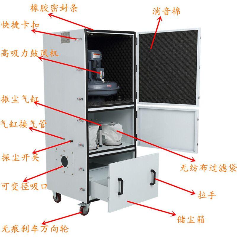 磨床粉尘吸尘器 磨床除尘器 磨床吸尘器 金属粉尘吸尘器示例图28