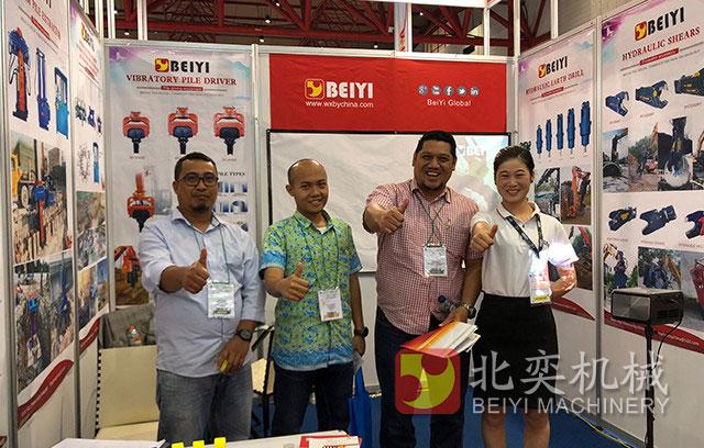 北奕机械2018印尼展会进行中