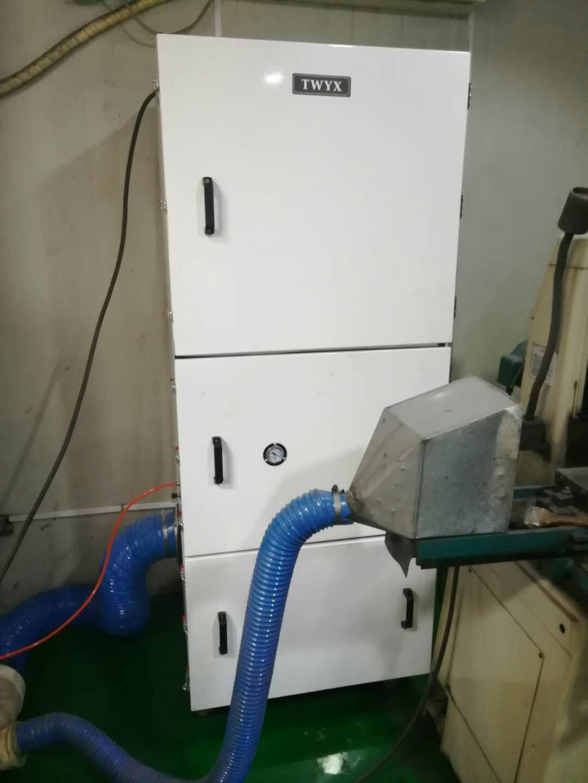 机床废屑除尘器 磨床粉尘吸尘器 柜式工业吸尘器 磨床吸尘器示例图18