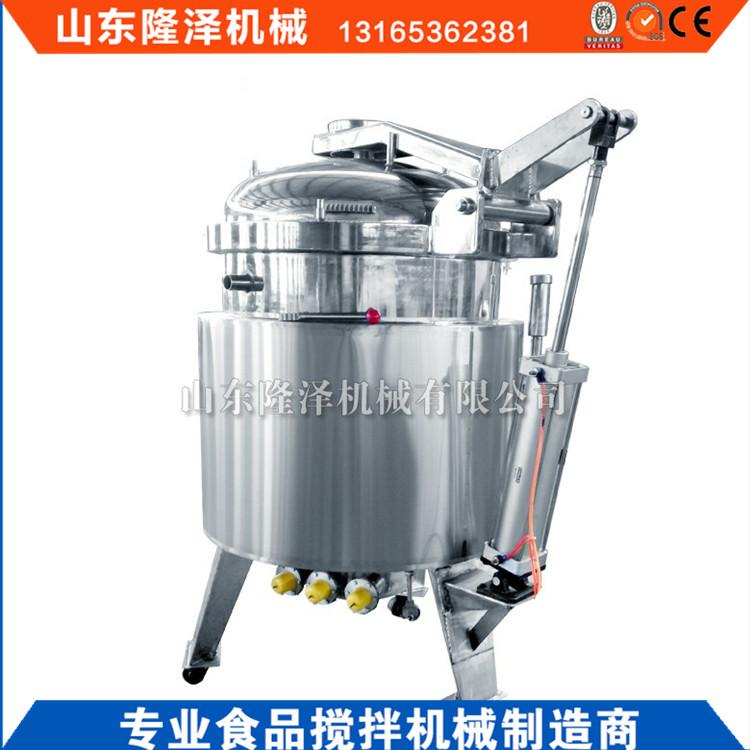 316不锈钢浸糖锅 梅子浸糖设备 广东果脯蜜饯生产机器价格示例图4