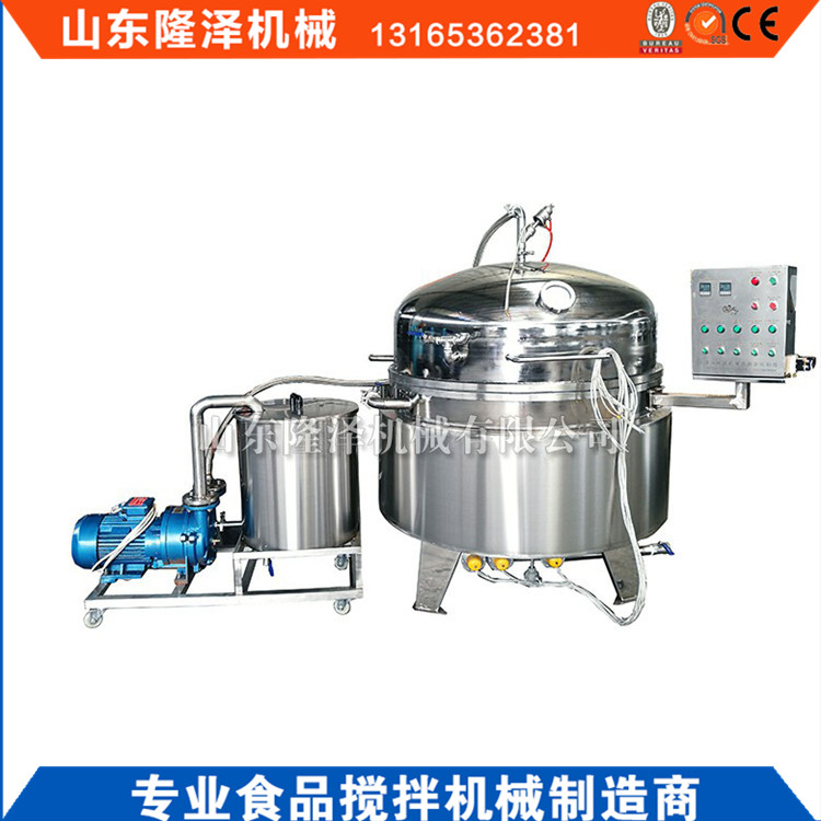 316不锈钢浸糖锅 梅子浸糖设备 广东果脯蜜饯生产机器价格示例图5