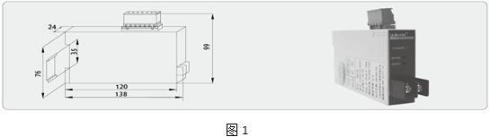 安科瑞BD-3I3电力变送器,厂家直销示例图4