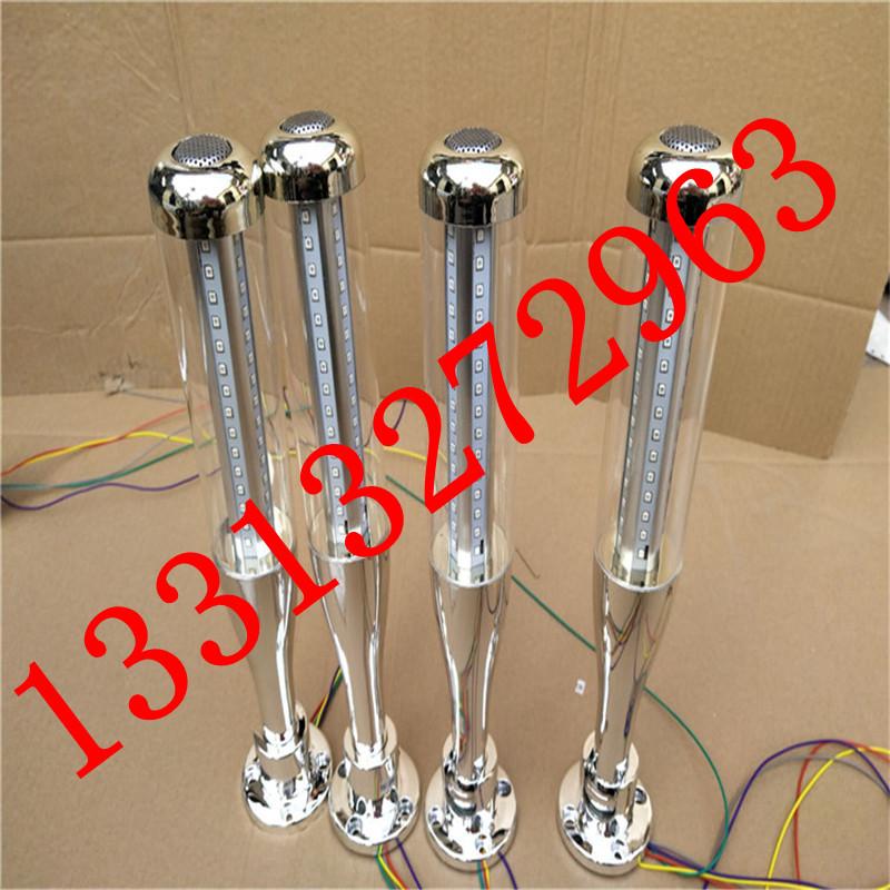 LED三色灯24V LED警示灯 三色指示灯 机床多层信号灯 可蜂鸣常亮示例图3