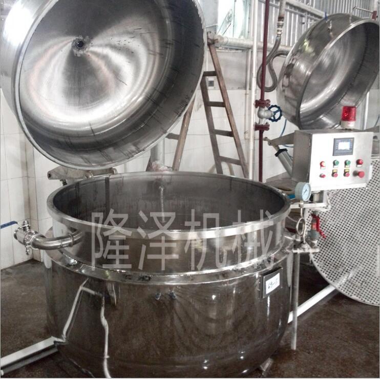 山東隆澤地瓜條真空浸糖鍋 藍莓浸糖生產設備價格 果蔬蒸煮浸糖生產線示例圖6