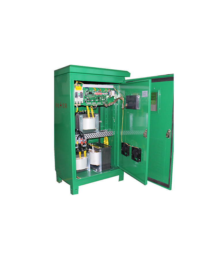 防雨型户外大功率电力补偿式稳压器三相380V智能型无触点交流稳压器ZBW-100KVA示例图6