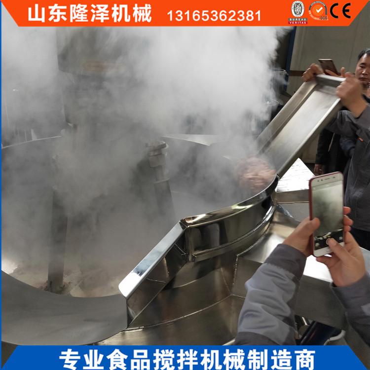 商用炒菜机价格 厨房专用配套设备大型炒菜机示例图4