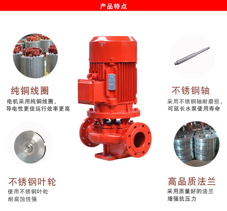 喜之泉XBD-L3.0/1,立式单级稳压消防泵,消防水泵,消防泵示例图5