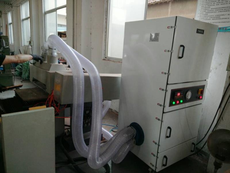 厂家直销磨床吸尘器  0.75kw磨床粉尘除尘器  JC-750-2砂轮机打磨集尘器   机床铝屑粉尘吸尘器移动式示例图6