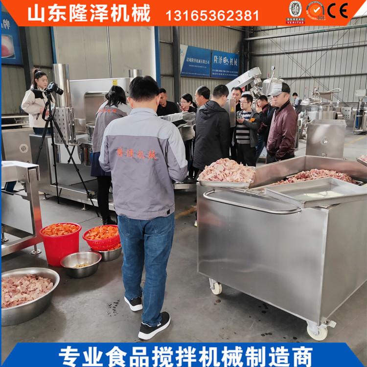 商用炒菜机价格 厨房专用配套设备大型炒菜机示例图2