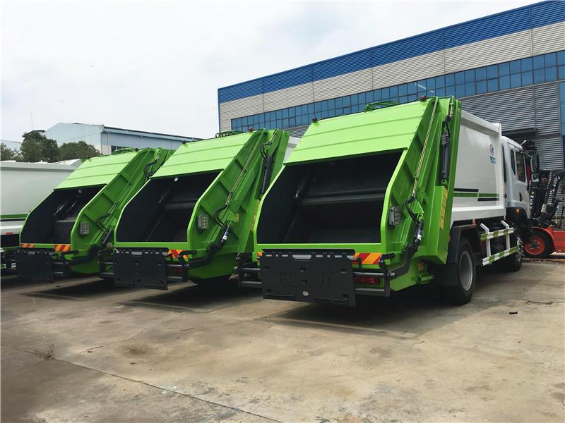 东风多利卡8方压缩式垃圾车,垃圾清运车,垃圾挤压清运车,厂家直销,大量现货,超低价格示例图12