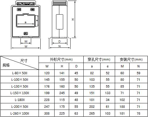 安科瑞AKH-0.66L-45剩余电流互感器,量大从优示例图6