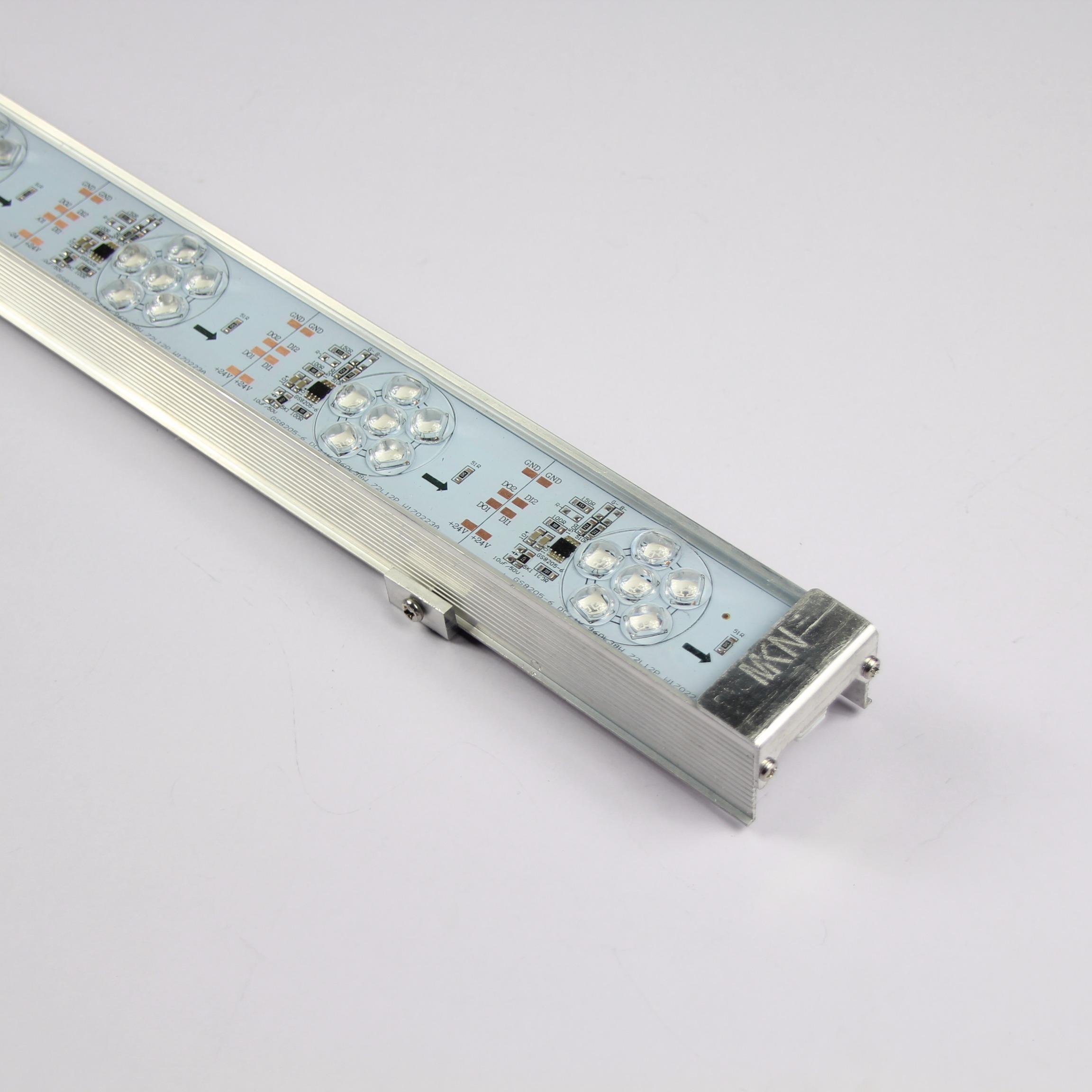 中山市明可诺LED像素灯条,LED外控全彩像素灯条,LED轮廓灯,LED户外灯图片