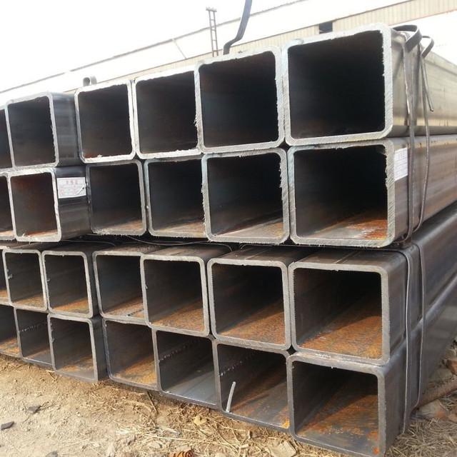 無縫方管價格優惠100/100無縫方管 20號鋼材質定尺加工
