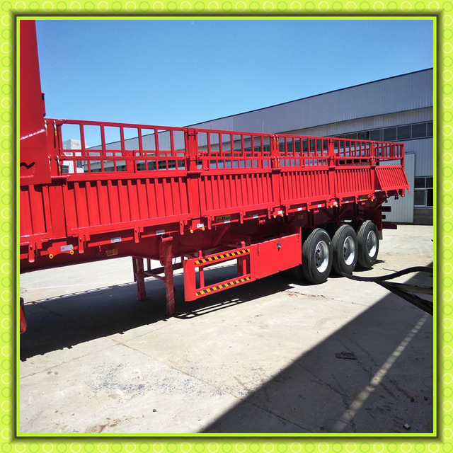 骨架式集装箱 轻体自卸半挂车运输 60箱板高度