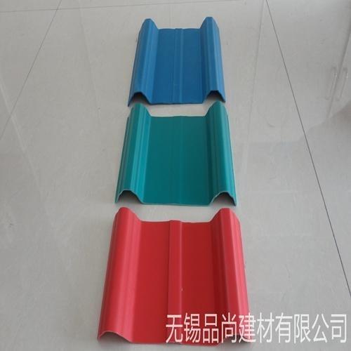 厂家批发防锈塑钢瓦 防腐瓦 840型PVC塑钢瓦屋顶