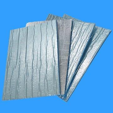 XPE保温板新型建材铝箔XPE隔热材屋顶防水 防火防晒 隔热 铝箔贴面