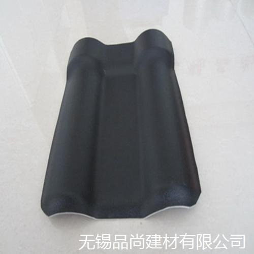 树脂瓦厂家直销灰色3.0mm厚asa合成树脂瓦