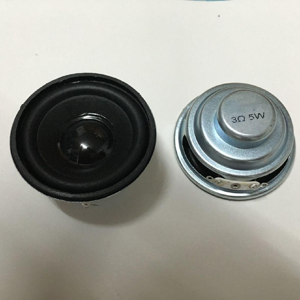 衡聲廠家供應52mm圓形K068無線麥克風喇叭,藍牙音響揚聲器