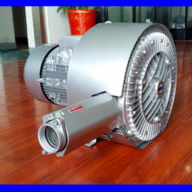 双段高压风机 双叶轮旋涡高压鼓风机 厂家直销漩涡高压气泵示例图3