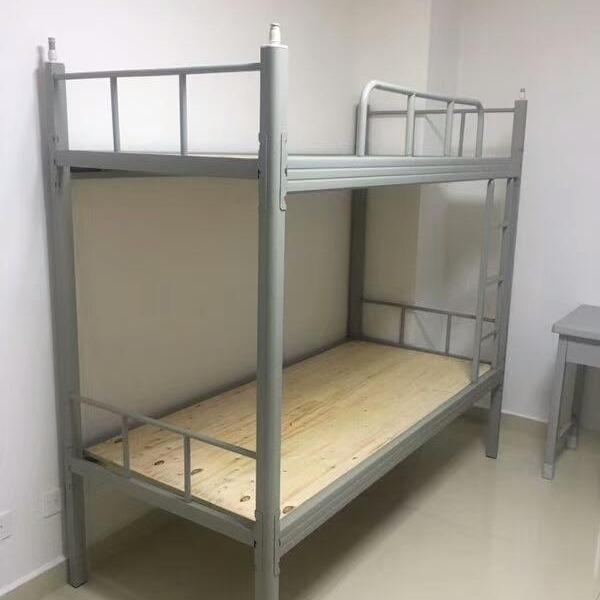 部队宿舍专用钢制双层床公寓床学校高低床持久耐用70年