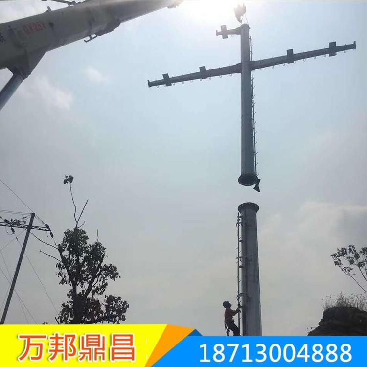 呼伦贝尔 10kv电力钢管杆 35kv电力钢管杆  欢迎来电 187-1300-4888