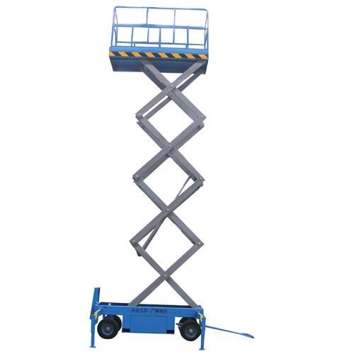 18米四輪移動升降機 電動液壓16米升降機制造 剪叉升降平臺廠家圖片